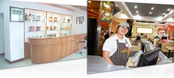 饭店餐馆收银台超高清视频监控