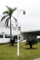 索尼工厂监控-室外道路监控