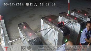 100万像素-深圳宝安某建筑工地门禁出入口高清监控演示