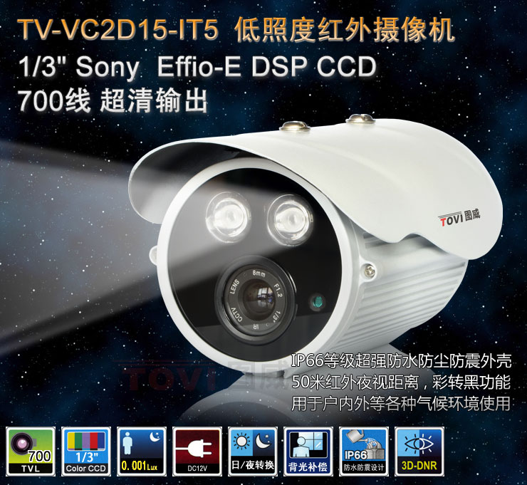 图威TV-CC2D15-IT5摄像机主图