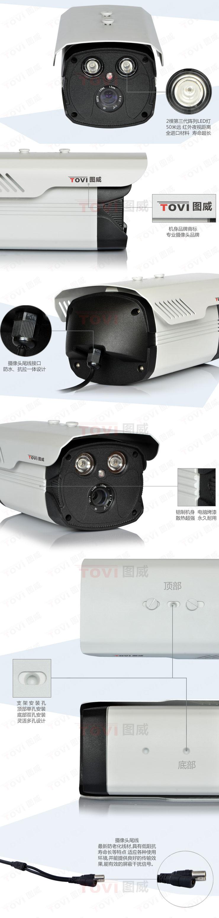 图威TV-CC2C15-IT5摄像机展示