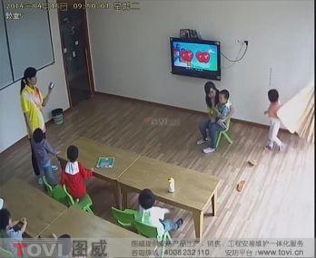 D1效果-广州某幼儿园视频监控效果演示