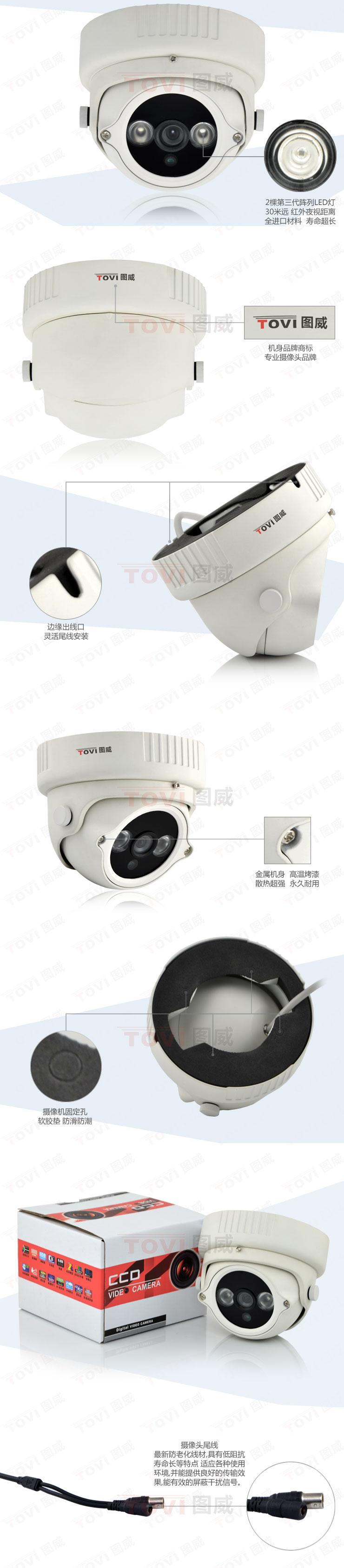 图威TV-CE2A15-IT3摄像机展示