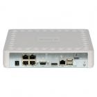 图威TV-NVR9104K-6712E 4路全高清1080p NVR硬盘录像机(SATA*1)(网口*5)+4IPC套装
