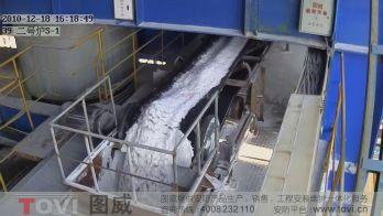 100万像素-氧化铝厂二号炉皮带秤数字高清视频监控录像演示