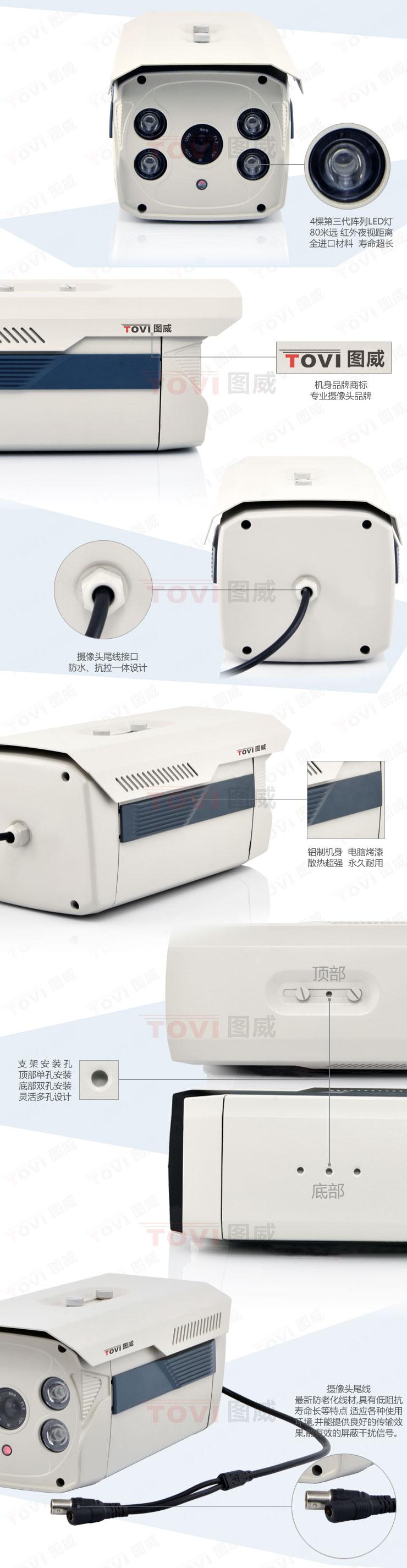 图威TV-CC2B15-IT8摄像机展示