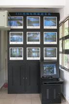 索尼工厂监控-监控电视墙